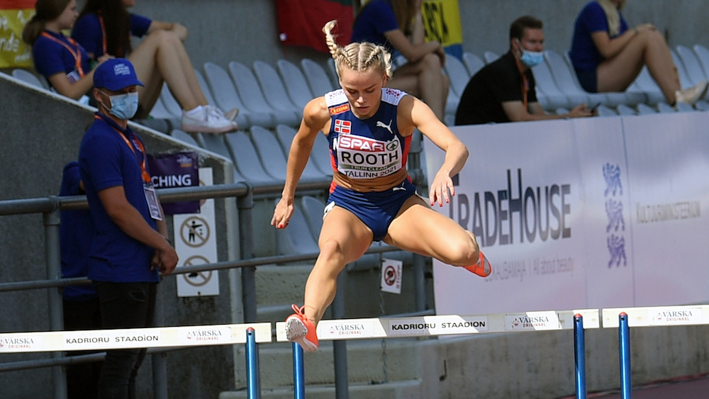 Andrea Rooth 400m hekk Tallinn U20 gull
