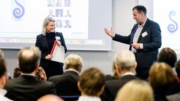 Ingrid Tjøsvold på Interimdagen 2018