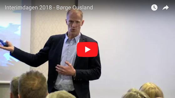 Video fra Interimdagen 2018 - Børge Ousland