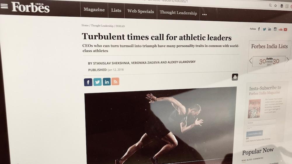 Toppidrettens bidrag til lederskap i tøffe tider