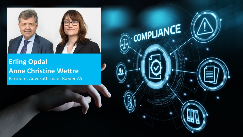 Compliance - hva er det og hvorfor er det viktig Ræder Interimleder