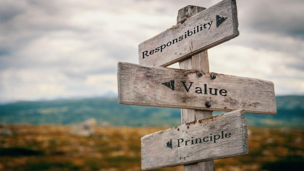 Tar du verdibaserte beslutninger?