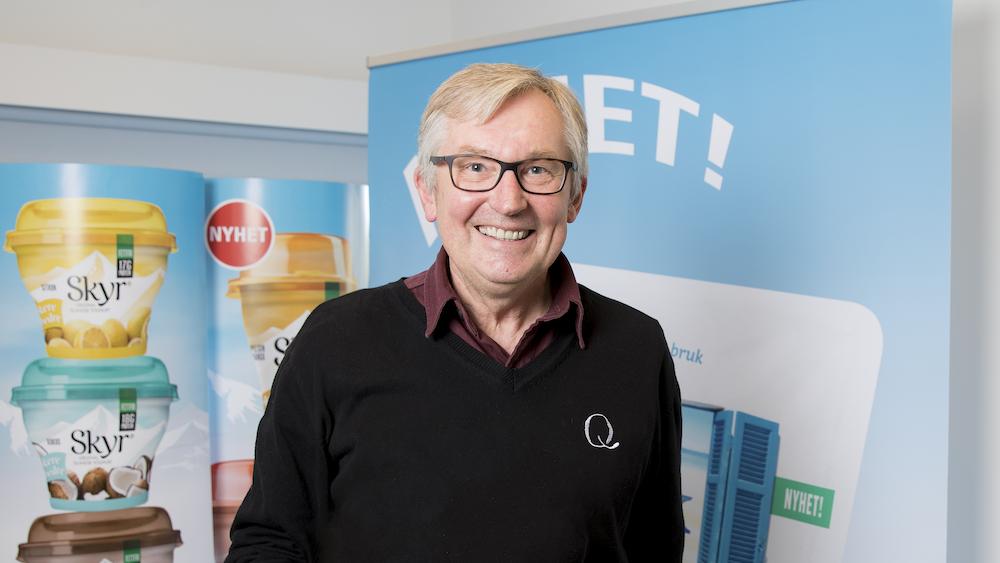 Q-sjefen Bent Myrdahl