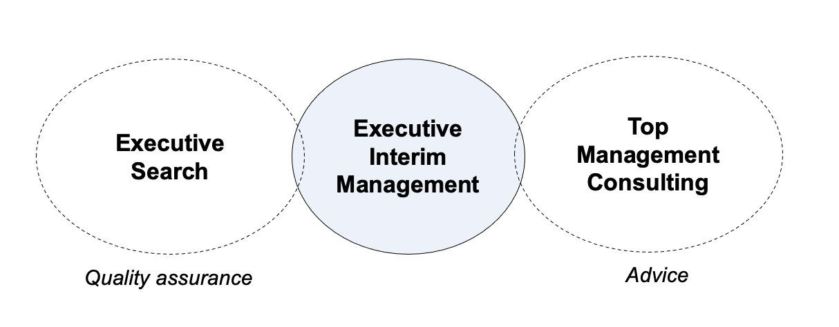 interimledelse managing consulting executive search