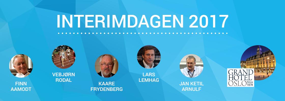 INTERIMDAGEN 2017 foredragsholdere